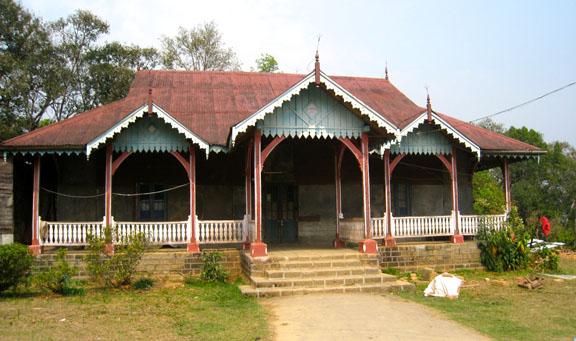 Khamliana's bungalow as it looks today.