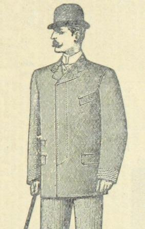 Smartly dressed man with a moustache