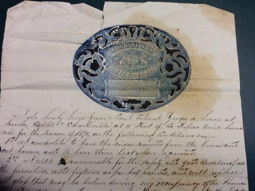 Rental document for Charleville