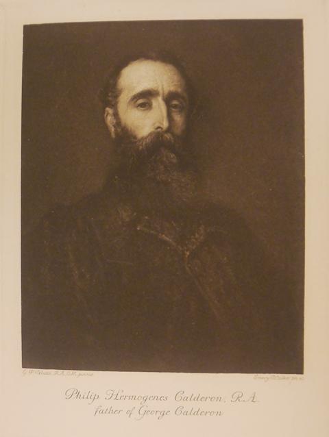 Portrait of Philip H. Calderon