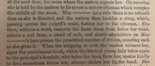 Description of whipping incidents