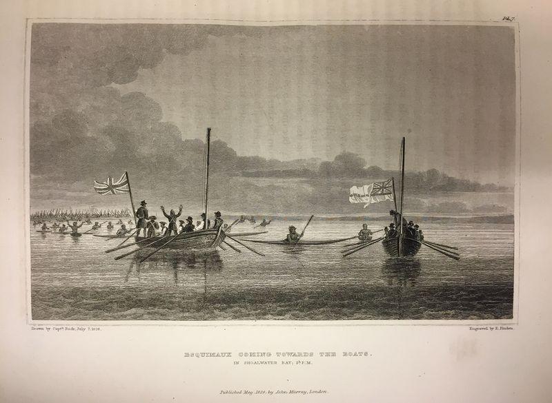 Inuit boats (Franklin Second Journey)