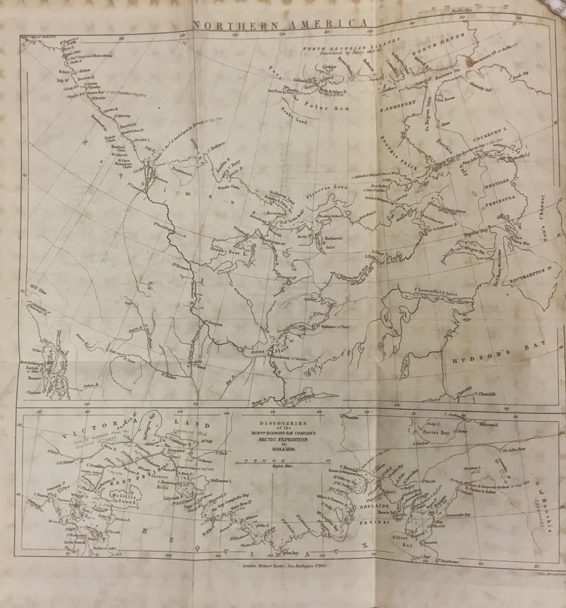 Simpson and Dease (map)