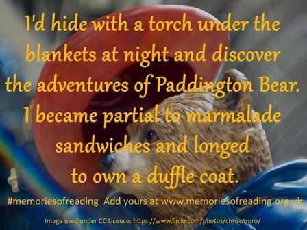 Memory of reading Paddington Bear as a child