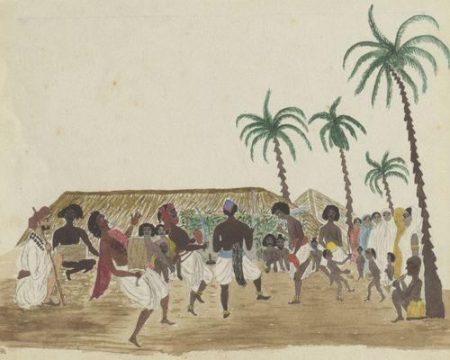 Dancers from Machell Journal