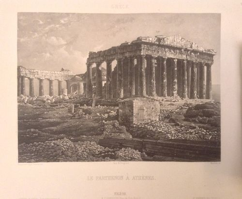 Daguerrotype of the Parthenon