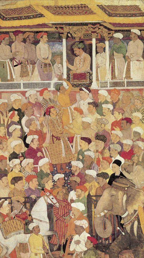 Jahangir in Darbar