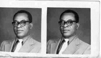 Close up portrait of the same man