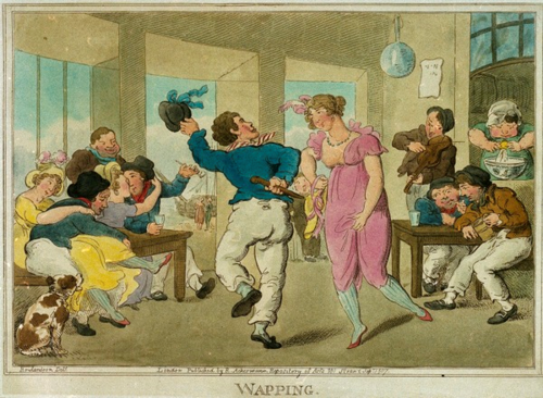Wapping - sailor dancing with a woman