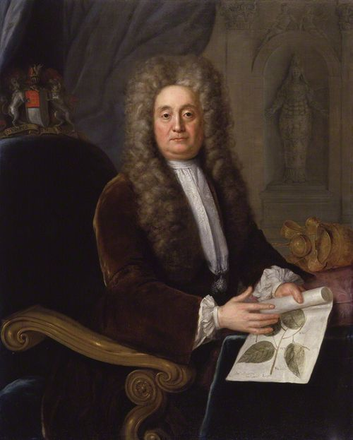 Sir Hans Sloane portrait