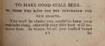 How to fix beer from The Publican and Spirit Dealers' Daily Companion.
