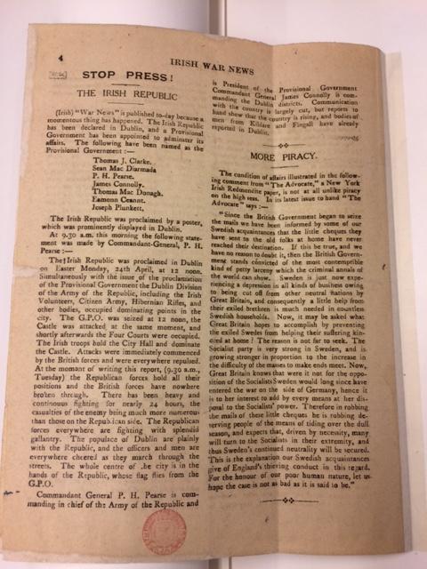 Irish War News p4