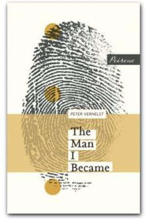 Cover of 'The Man I became' with a design showing a fingerprint