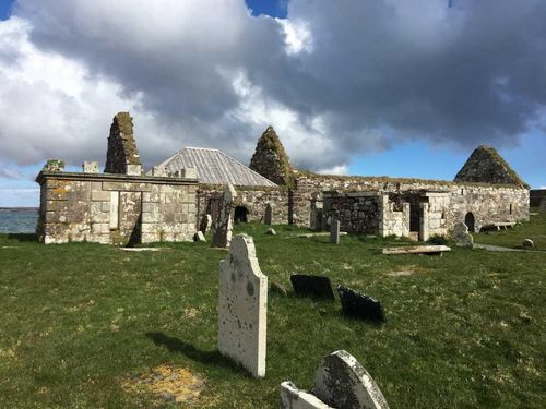 The Ui Church at Aignish, near Stornoway.