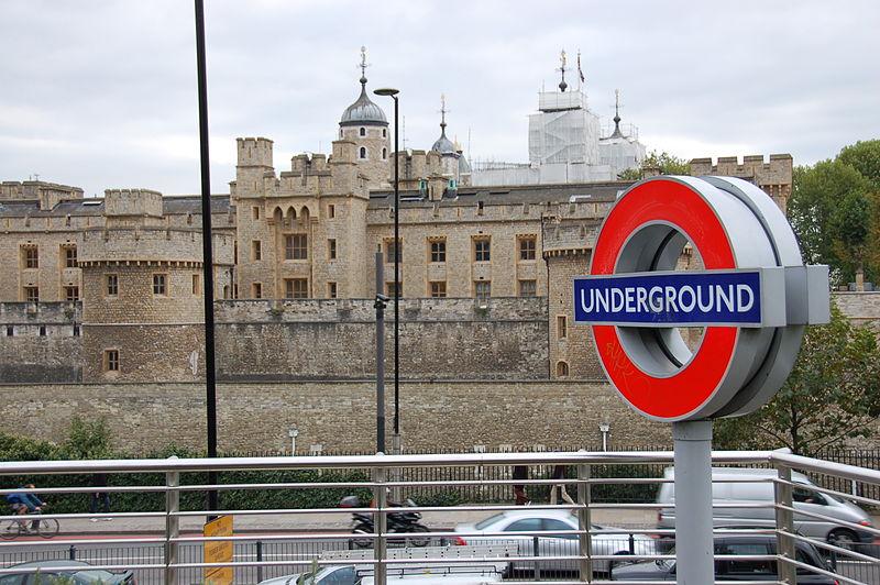 Tower of London Underground Ralf Roletschek