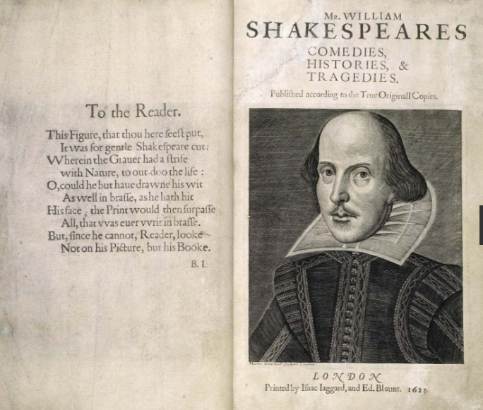 Shakespeares-first-folio