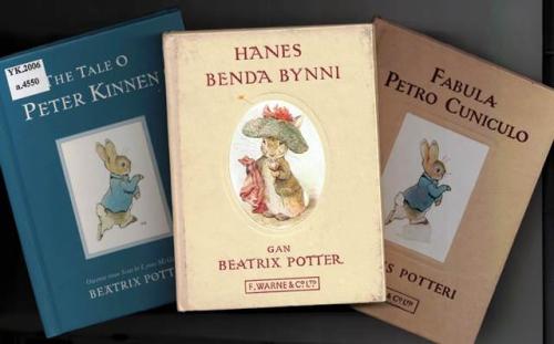 Beatrix Potter Scots Welsh Latin