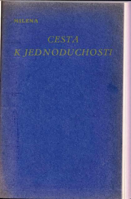 Milena Casta Kjednoduchosti cover