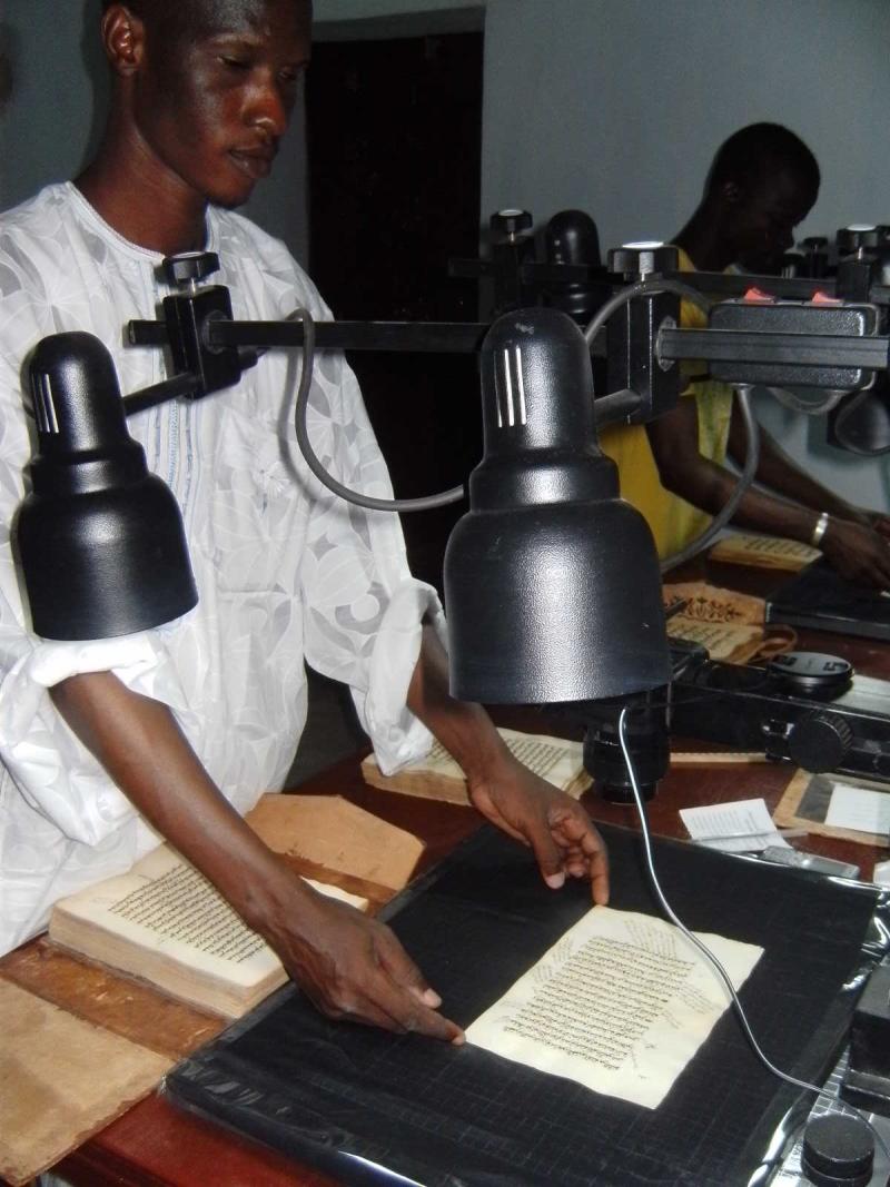Digitising in Djenné, Mali