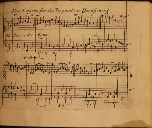 Music printing in England, 1650-1700, and The British