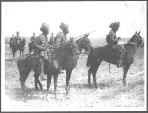 Indian Cavalry Western Front World War I