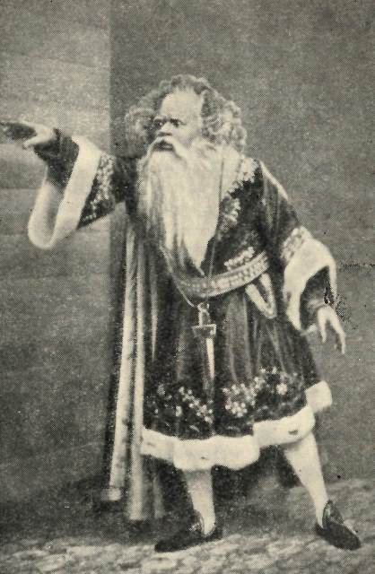 Ira Aldridge in costume as King Lear