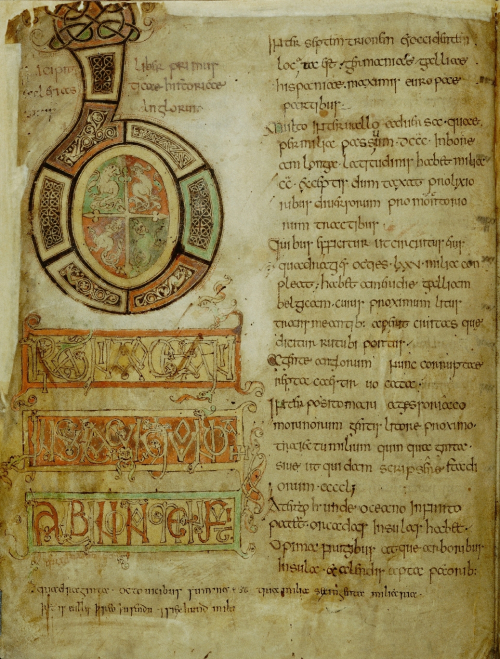 Cotton MS Tiberius C II, f. 5v