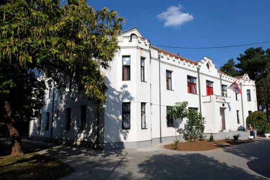 Photograph of the Anglo-Serbian Children's Home building as it is today