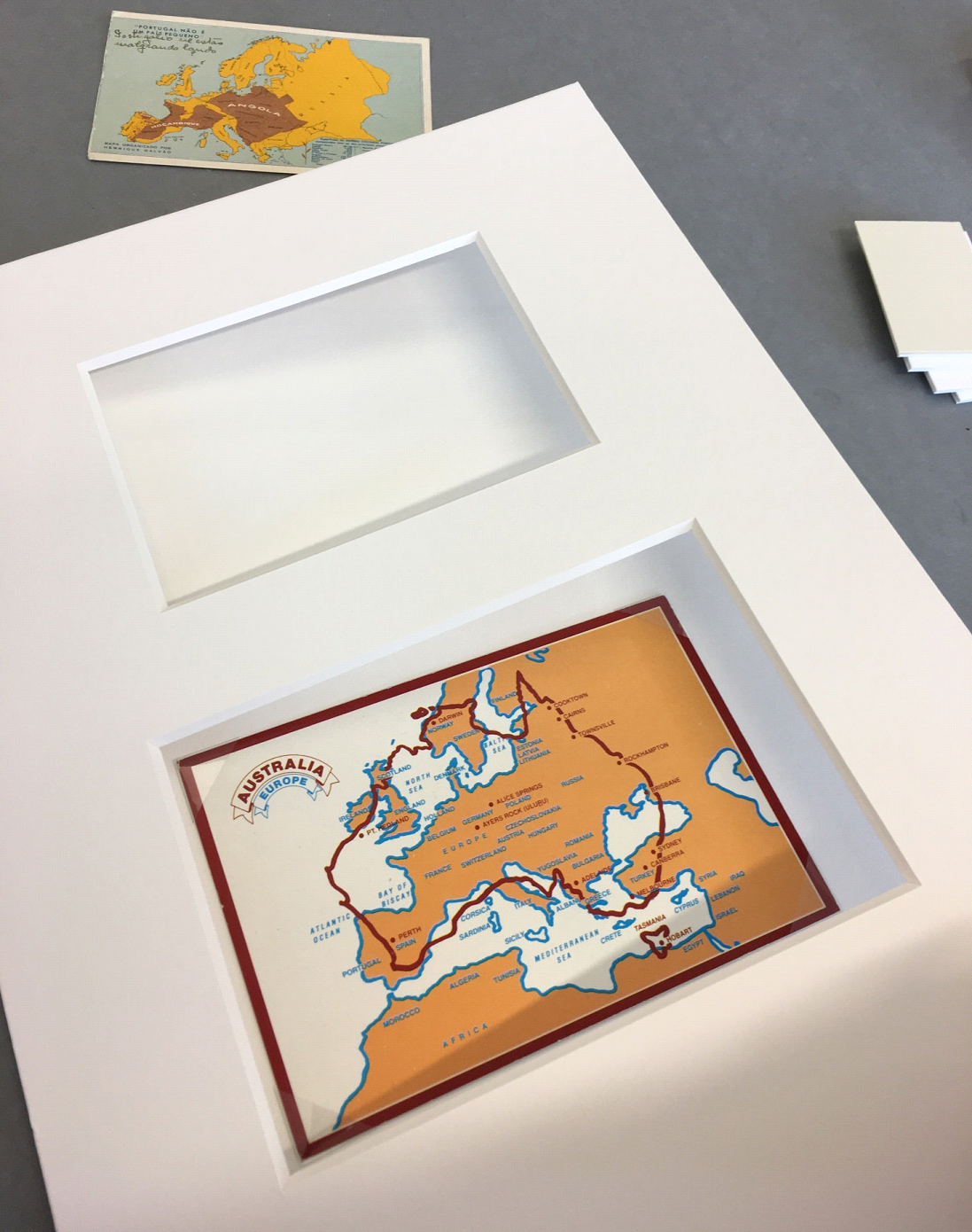 Mounting and Framing: Preparing the Maps and the 20th Century ...