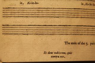 Amner 'Si deus nobiscum' original
