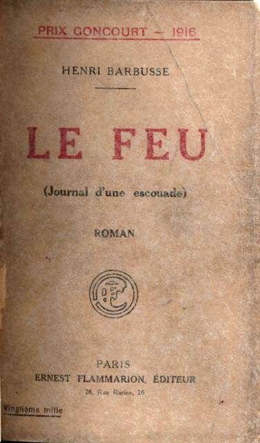 Cover of 'Le feu'