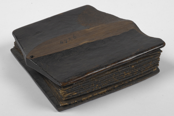Wooden covers of the Batak pustaha. British Library, Add. 4726.