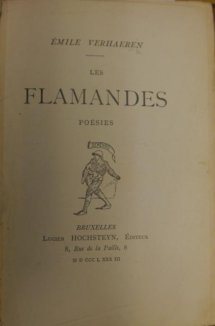 Title-page of 'Les Flamandes'