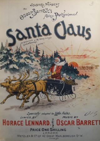 Oscar Barrett Santa Claus cover