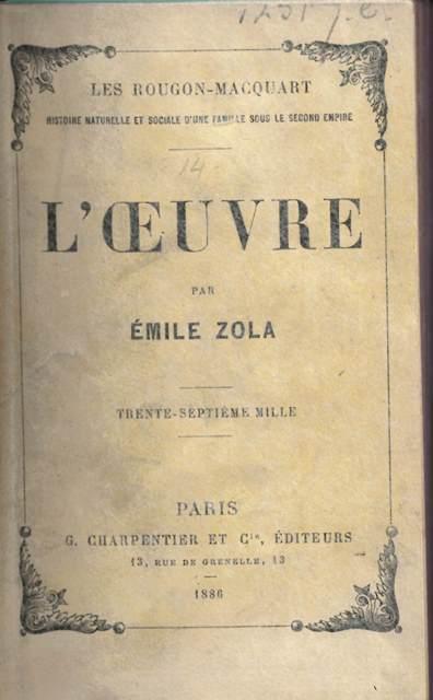 Zola Oeuvre 12517.e.33