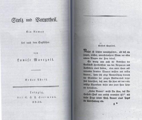 Jane Austen Stolz und Vorurteil