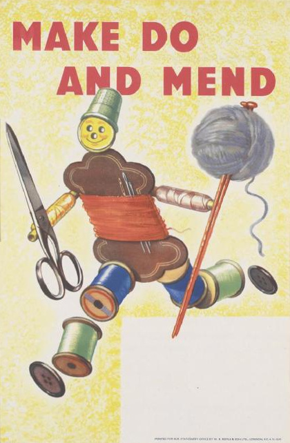 Make Do and Mend - government advertisement