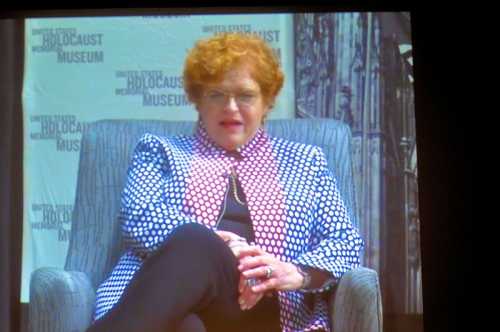Deborah Lipstadt at 2016-10-06 premiere of the movie Denial at Landmark Theater in Bethesda