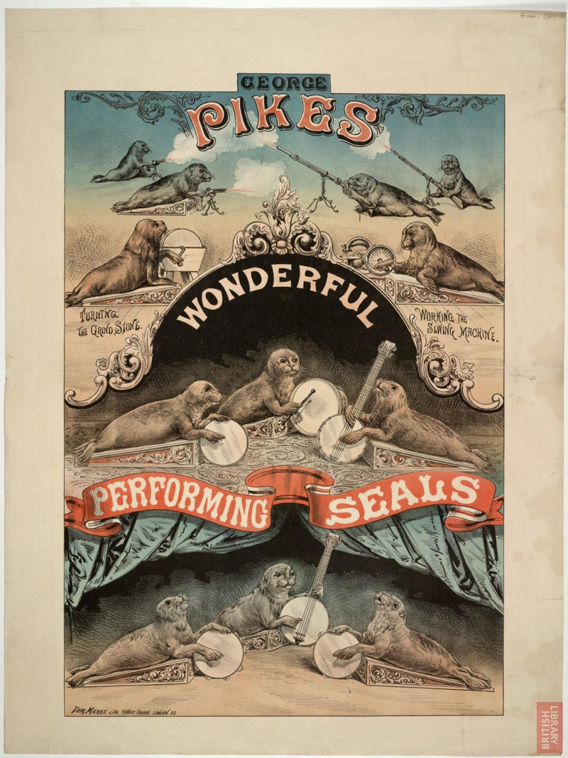 George Pike and seals