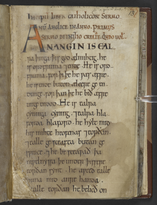 Old English 'Spell' Books - Medieval manuscripts blog