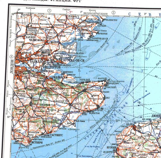 Soviet Military Mapping of the Cold War Era - Maps and views blog