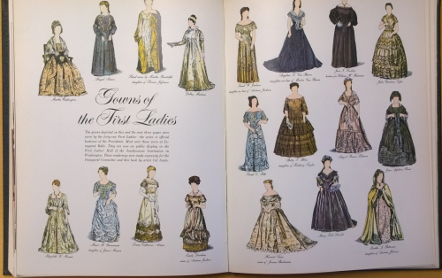 Gowns of 1st Ladies 1