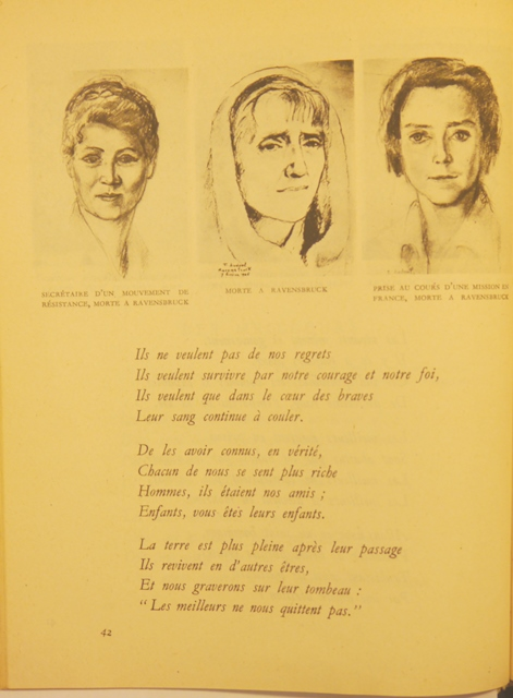 French Resistance Temoins women
