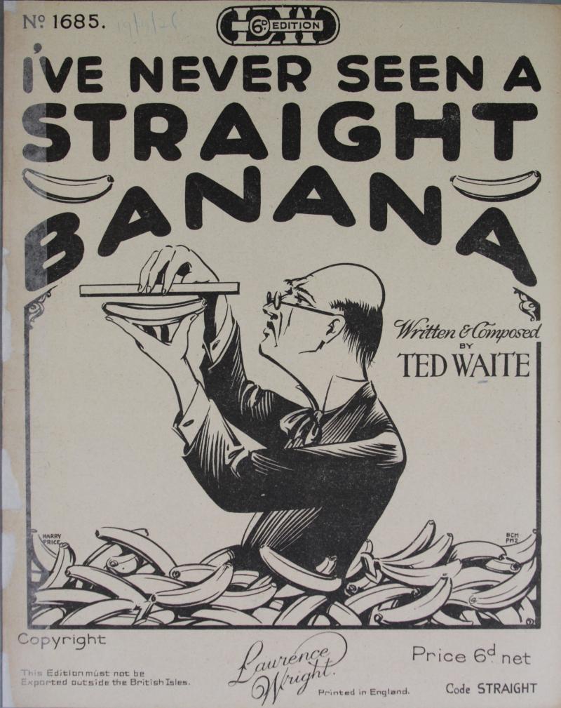 I've never seen a straight banana