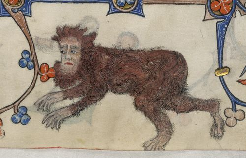 Wildman Lutterell Psalter  Add MS 42130