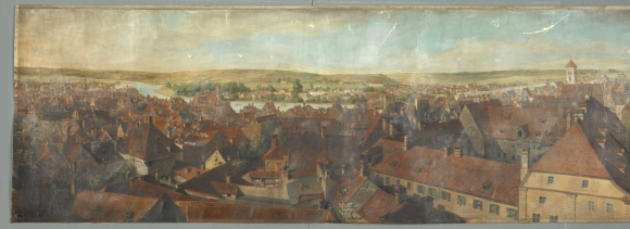 Panorama of Ratisbon (Regensburg)