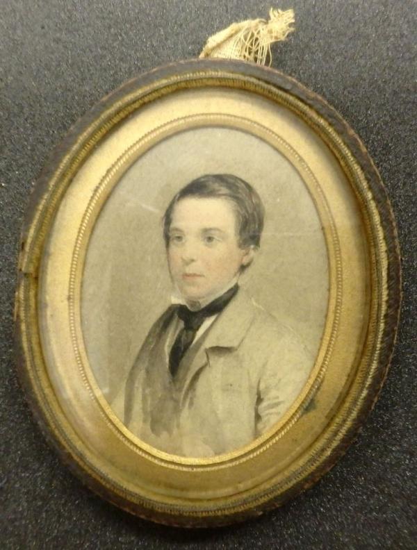 Miniature portrait of Henry Nicholetts