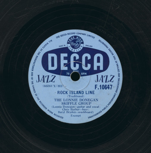 Disc label  side A  Decca DRX 19299 1