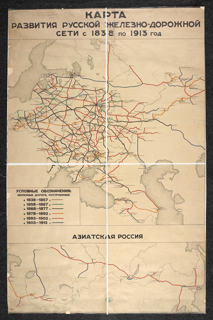 Development of railways Maps 35797.(8.)