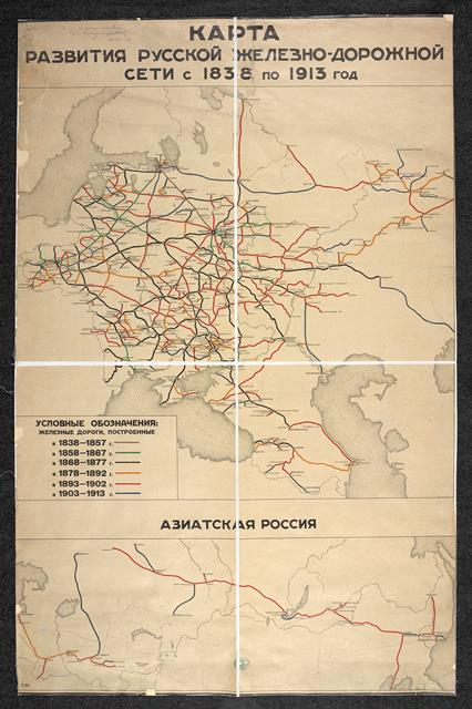 Development of railways Maps 35797.(8.)